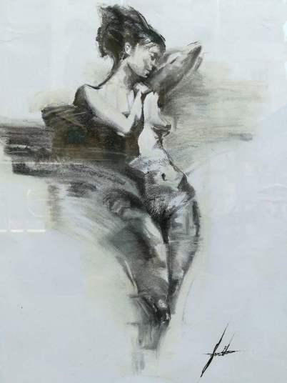 للفنانة العابرة فريدة أبو عوف